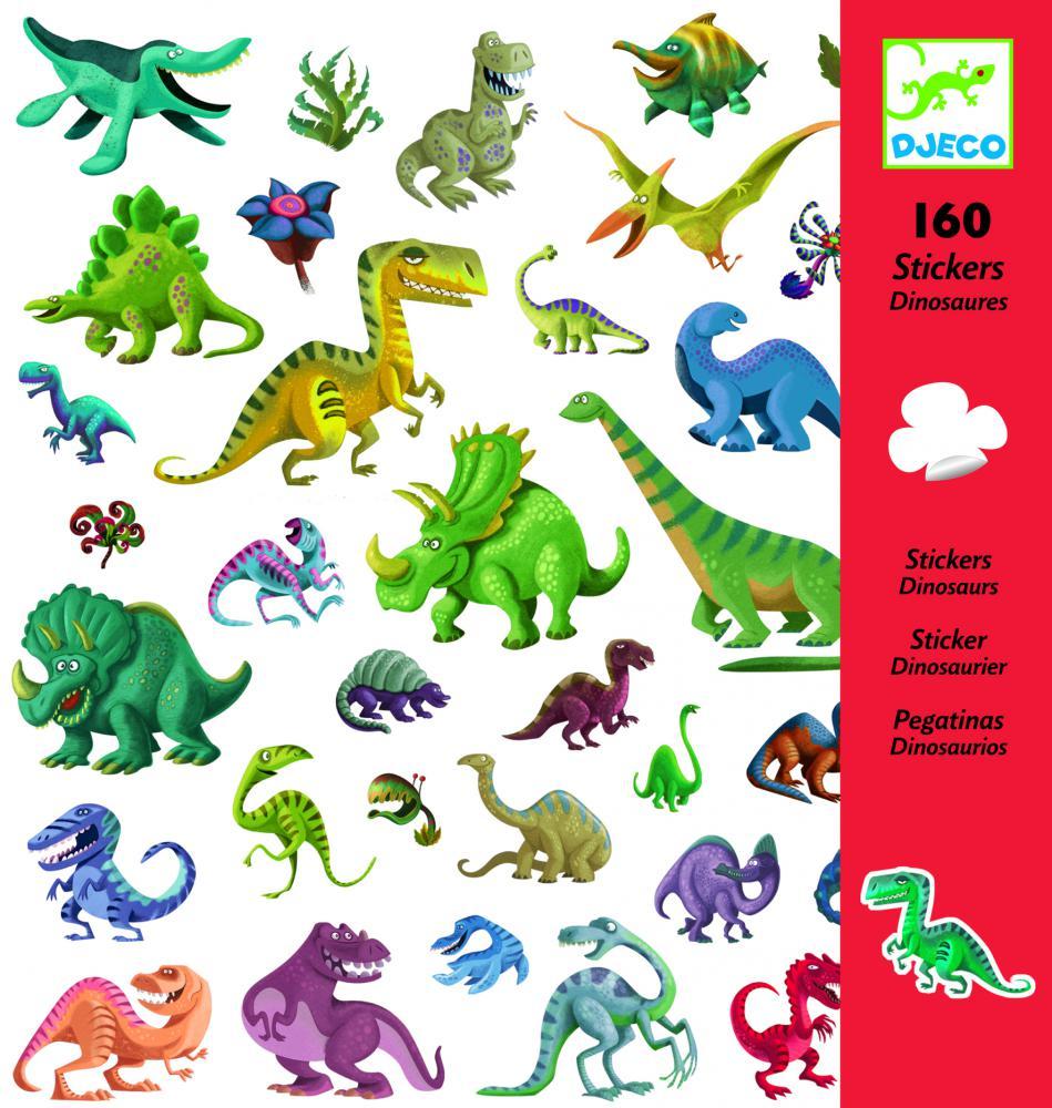 Samolepky Dinosaury Djeco