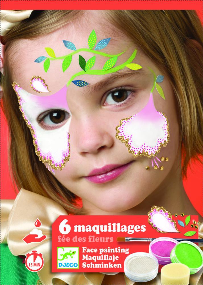 Farby na tvár – Kvetinková víla