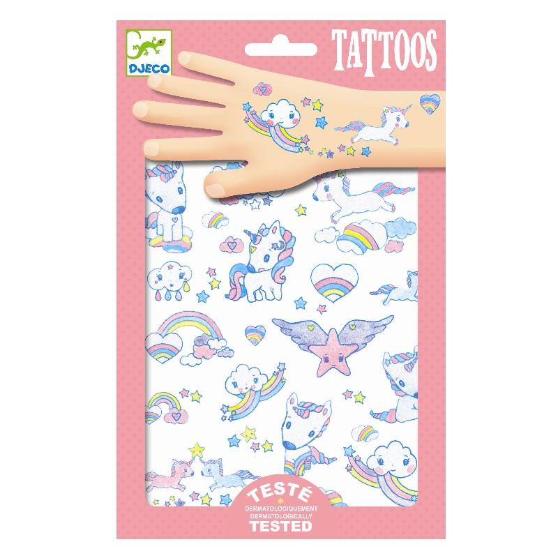 Djeco Tetovanie Jednorožce