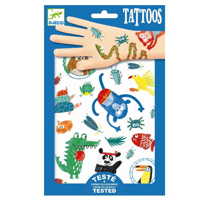 Djeco Tetovačky Zvieratká