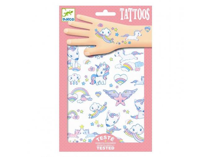 4418 djeco tetovacky jednorozce