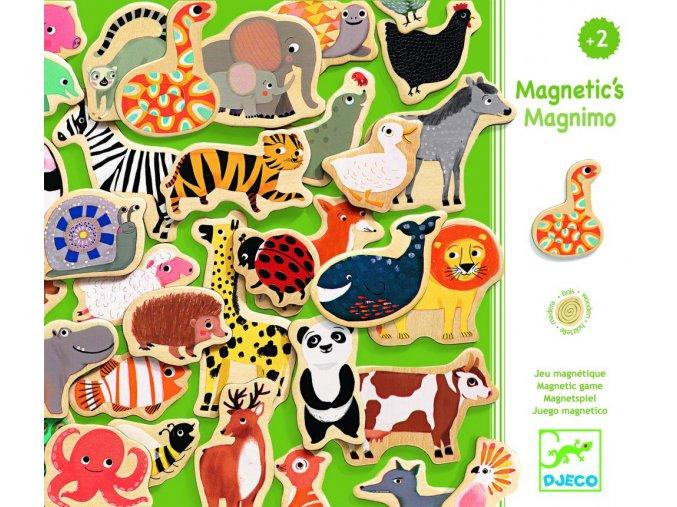 Djeco Drevené magnetky Magnimo