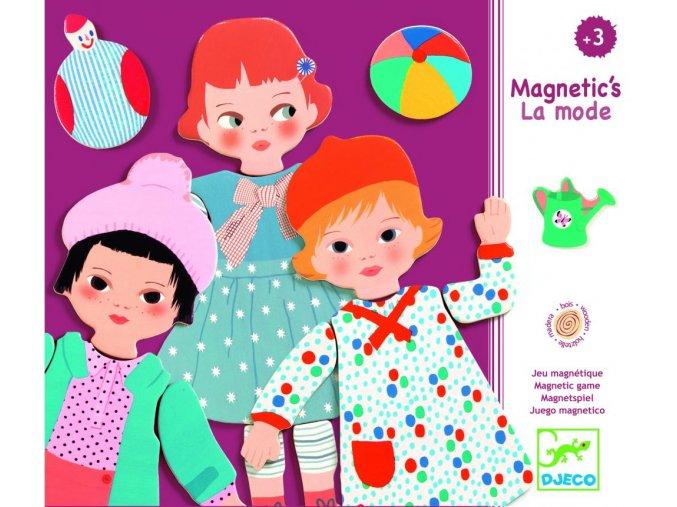 1037 djeco drevene magnetky moda