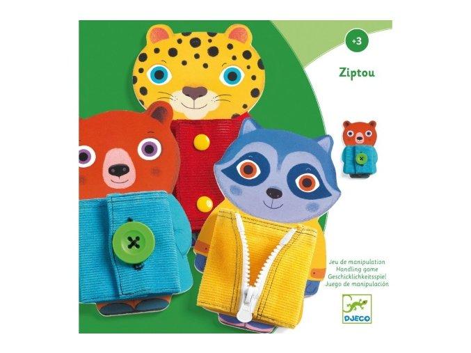 Djeco Ziptou - Motorická edukačná hračka