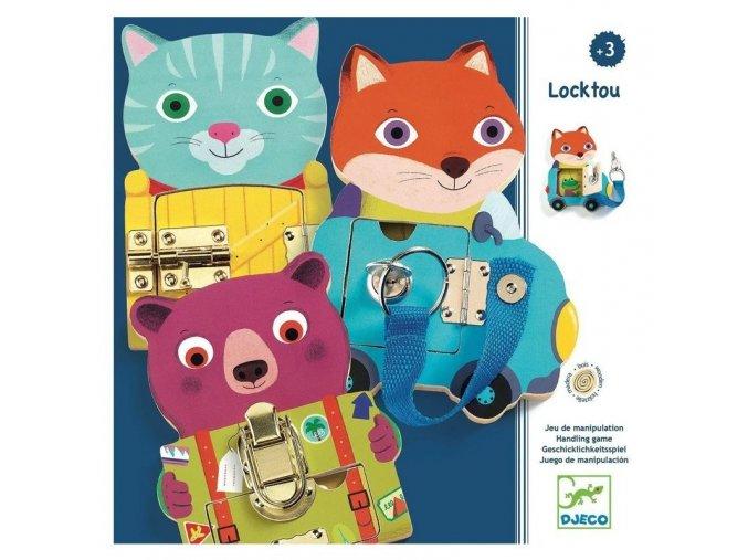 Djeco Locktou - Motorická edukačná hračka