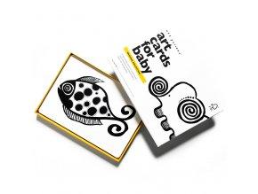 Wee Gallery Art Cards Original - kontrastní karty