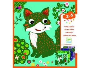 2822 djeco vyskrabovacky zvieratka z lesa