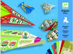 3062 djeco tvoriva sada origami lietadla pre chlapcov