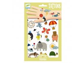 Djeco Tetování - Roztomilá zvířátka