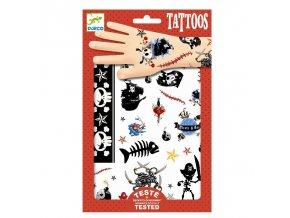 4526 djeco tetovacky pirati