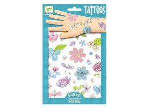 Djeco Tetování - Květiny
