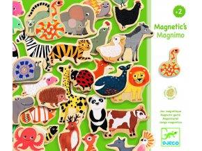 Djeco Dřevěné magnetky Magnimo