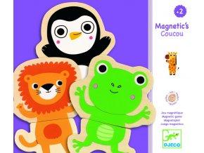 Djeco Drevené magnetky Zvieratká