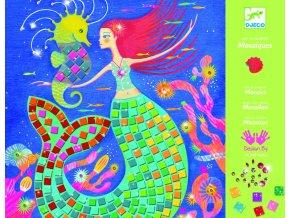 Djeco Perleťová mozaika Mořské panny