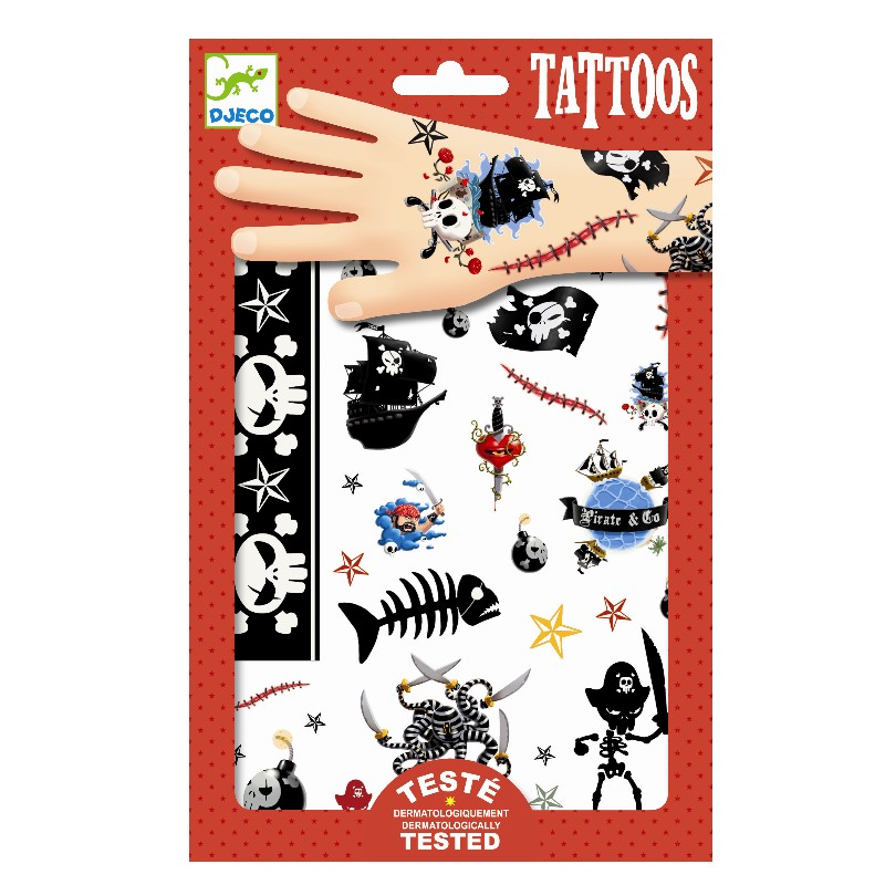 Levně Djeco Tetování piráti