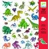2915 djeco samolepky dinosaury 160 ks