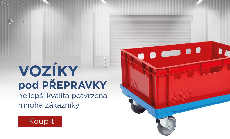 Vozíky pod přepravky PK Group