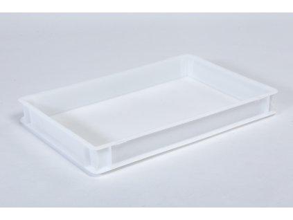 Plastová přepravka cukrářská nízká 600x400x90