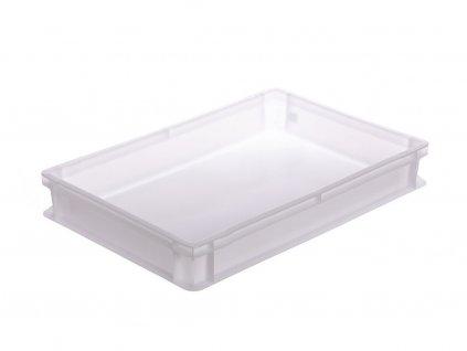Plastová přepravka cukrářská nízká 600x400x70
