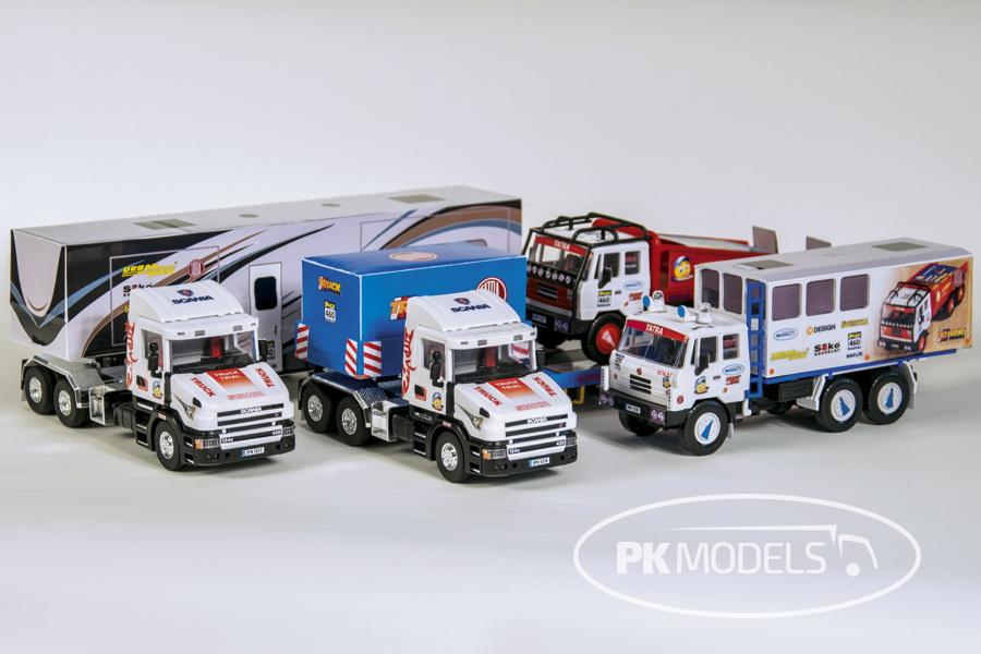 Truck trial team