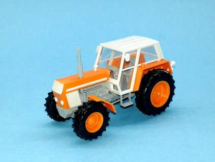ZETOR Crystal 12045 - stavebnice 1:43 - oranžový