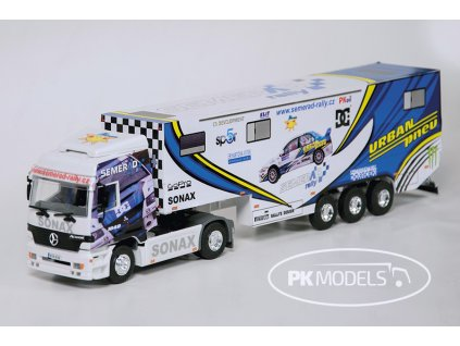 PK Models 1289 Semerad rally Urban pneu bile pozadi