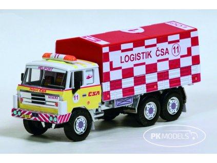 PK Models 1331 Tatra Logistik CSA Heliport 11 bile pozadi