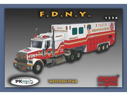 1234 FDNY Western star