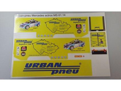 Aršík polepů MS 61.14 Urban pneu
