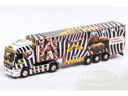 PK models MS 1299 ZOOpark Elefant transport bile pozadi