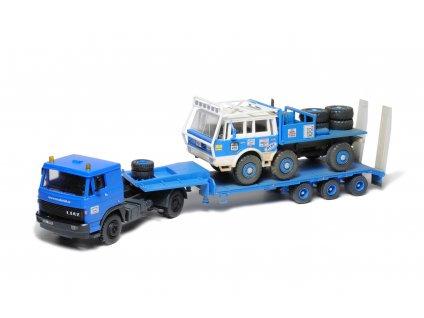 Liaz 110, N25-31, Tatra 813 6x6 1:87