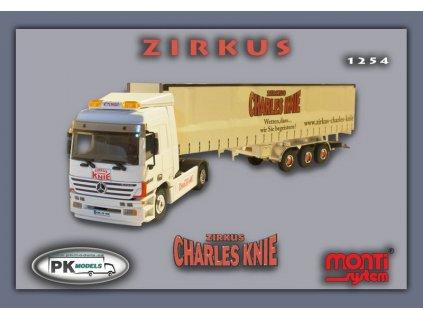Mercedes Actros Zirkus CHARLES KNIE