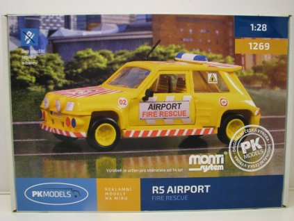 Renault R5 Airport fire rescue