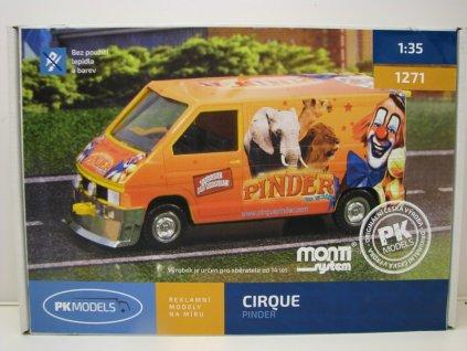 Renault Traffic CIRQUE PINDER
