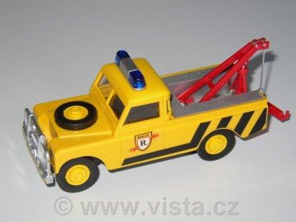 Land Rover odtahovka