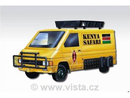 Renault Traffic Kenya safari