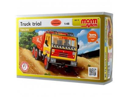 Tatra 815 6x6 truck trial