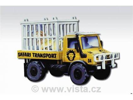 Mercedes Unimog Safari transport