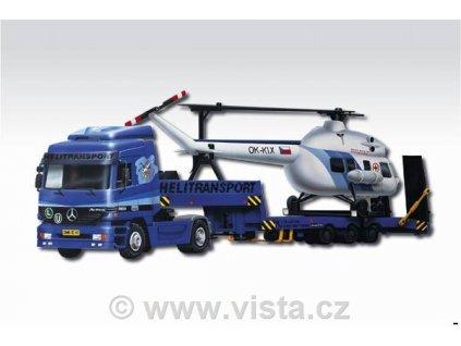 Mercedes Actros Monti system L Helitransport