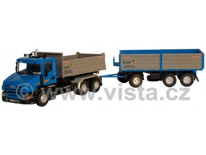Scania T sklápěčková souprava Tarmac