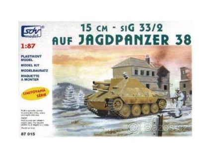 15 cm - siG 33/2 auf Jagdpanzer 38