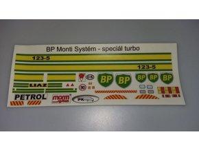BP Liaz special turbo - samolepky MS