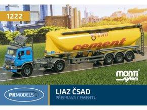 1222 Liaz CSAD Preprava cementu