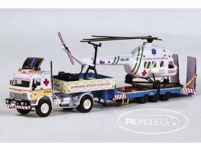 PK models 1326 ZLS CSA Heliport bile pozadi