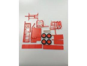 VALNÍK BSS P73 k traktoru ZETOR CRYSTAL 12045 červený