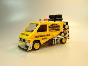 Barum Rally, service car, Renault trafic MS 05.3