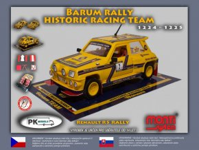Renault R5 rally Barum rally historic team