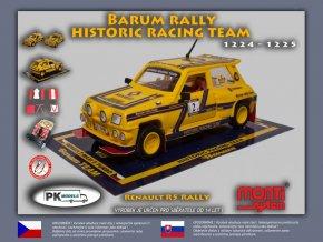 Renault R5 rally Barum rally historic team