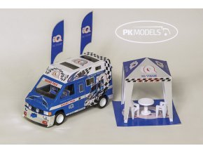 Renault Trafic IQ caravan team