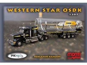 Western Star OSDK sklenice